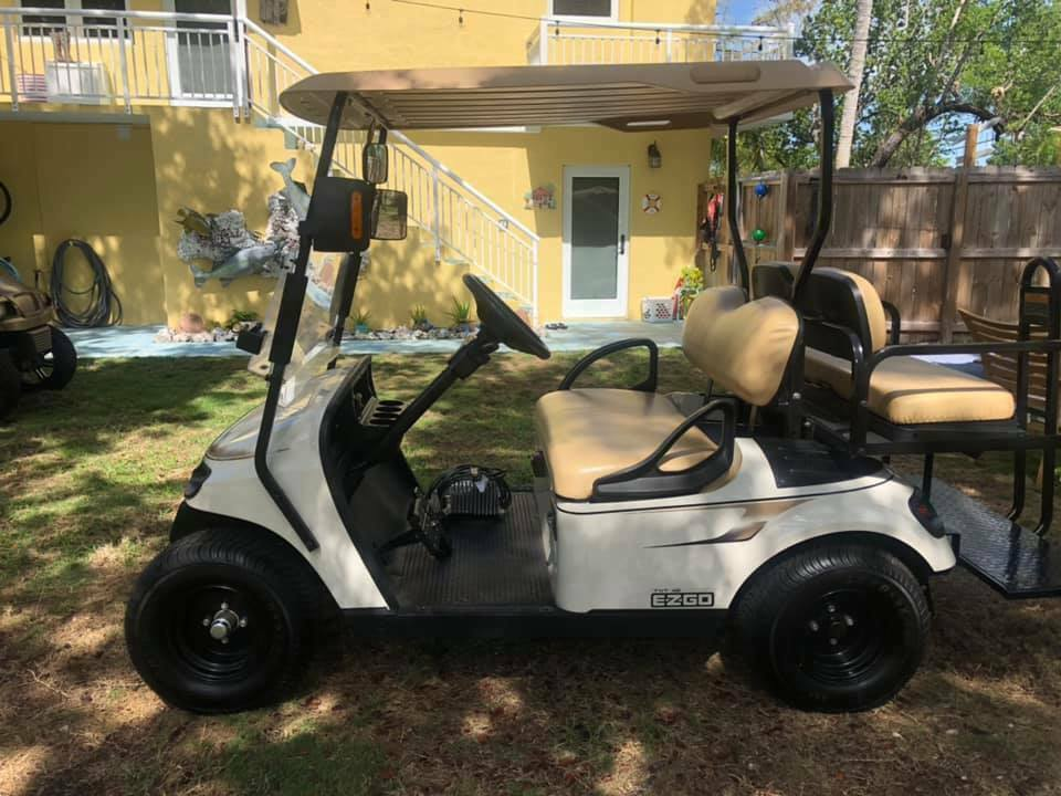 extra charger 2016 EZGO golf cart