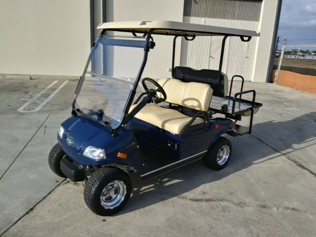 beautiful 2018 Evolution EV Golf Cart