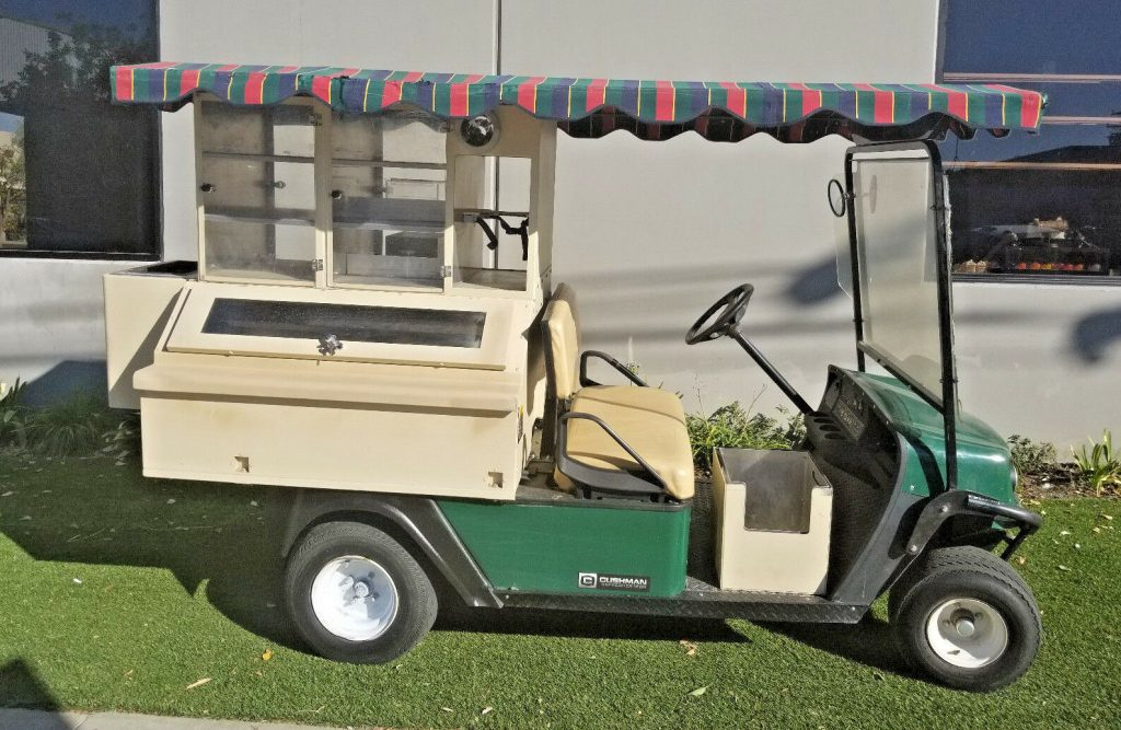 beverage carrier 2013 EZGO Gas Golf Cart