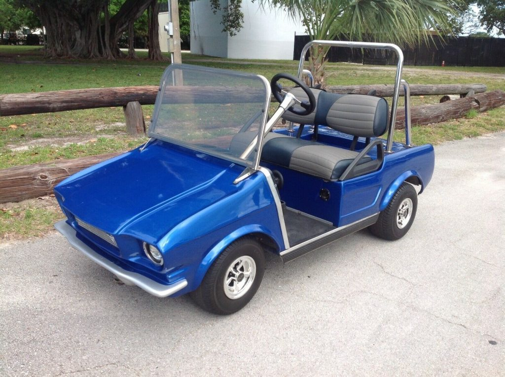 custom bodied 2010 Club Car golf cart