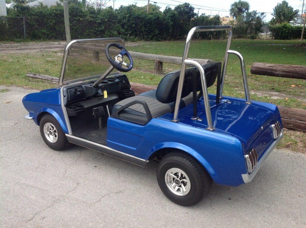 custom bodied 2010 Club Car golf cart