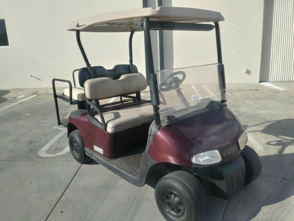 fast 2008 EZGO golf cart