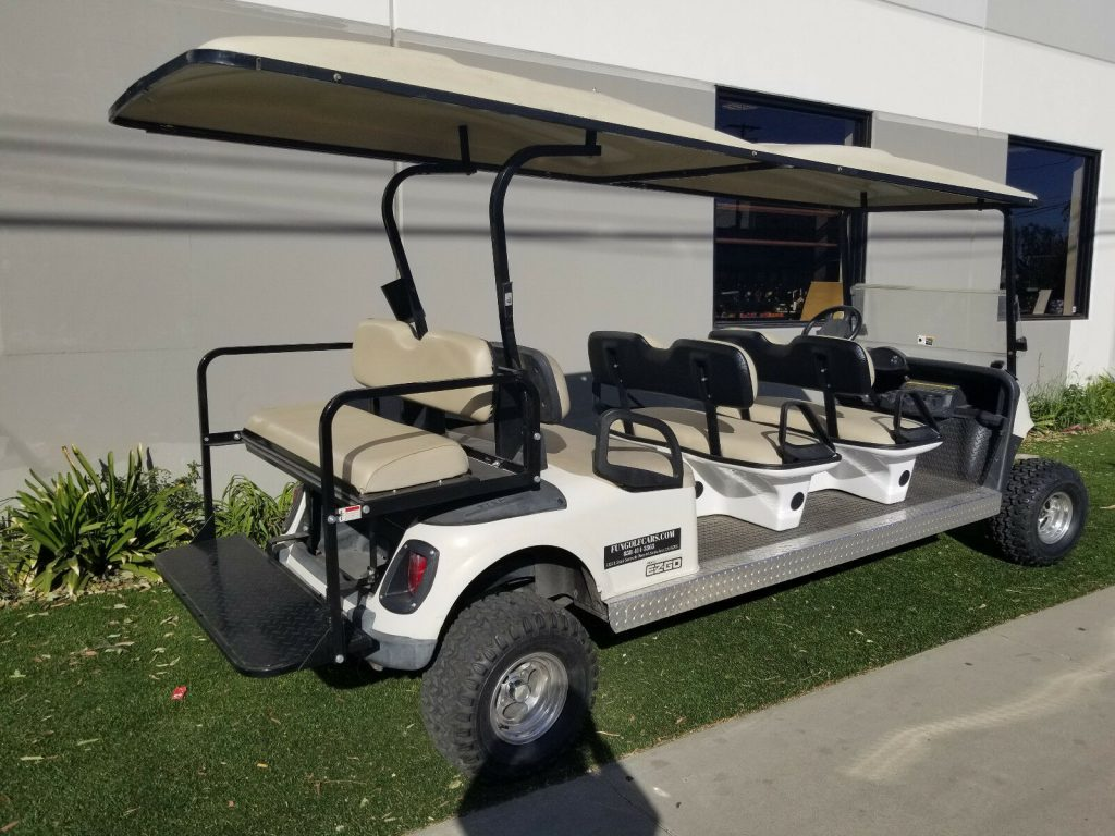 Lifted 2010 EZGO RXV Golf Cart
