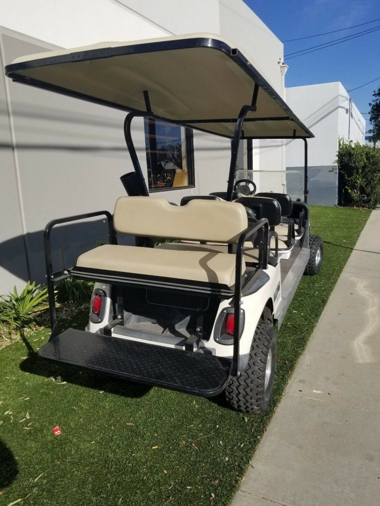 Lifted 2010 EZGO RXV Golf Cart