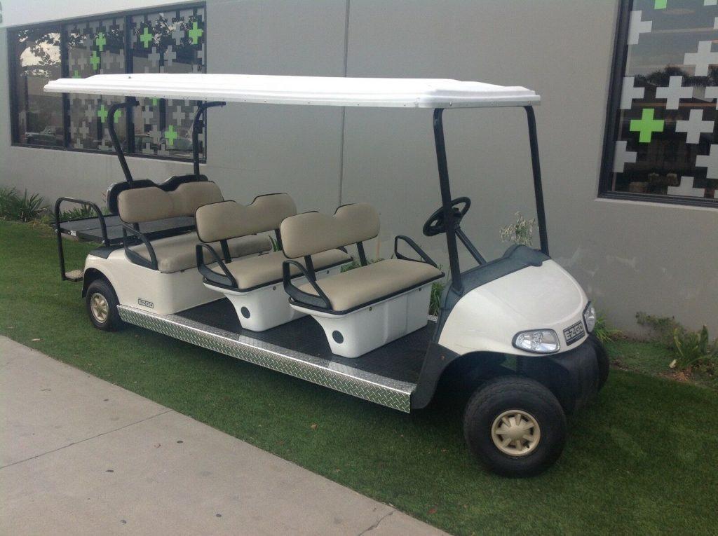 limousine 2010 EZGO RXV golf cart