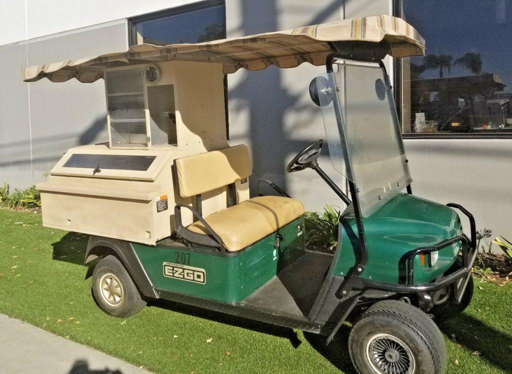 refresher 2008 EZGO Gas Golf Cart