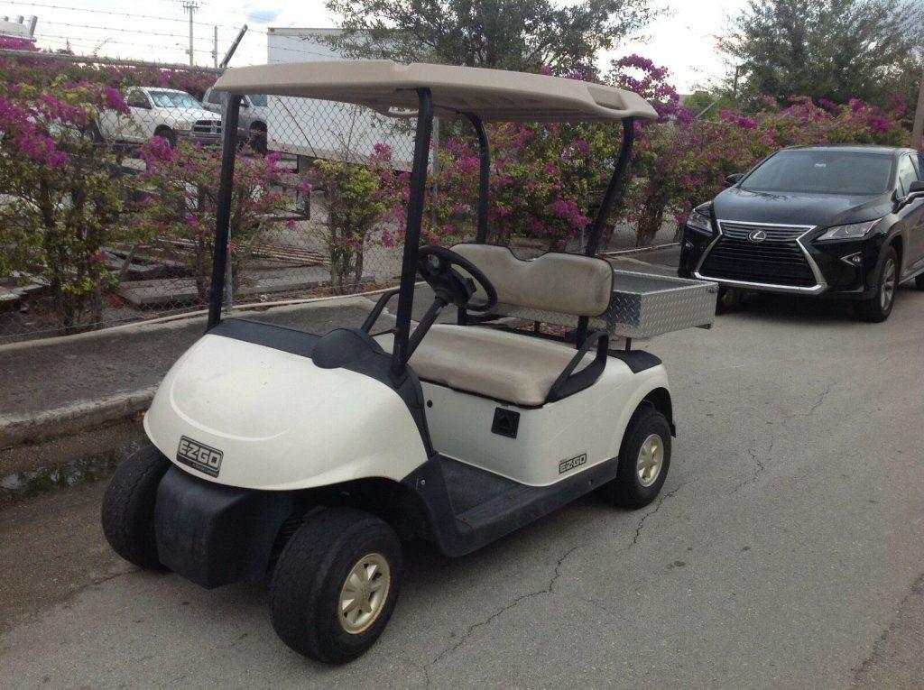 strong batteries 2010 EZGO rxv golf cart