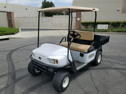 utility 2011 EZGO Dump Box Trunk Golf Cart for sale