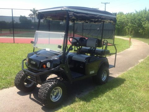 custom 2014 EZGO Express S4 gas golf cart for sale