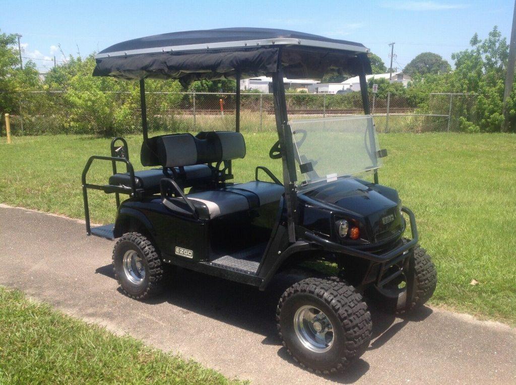 custom 2014 EZGO Express S4 gas golf cart