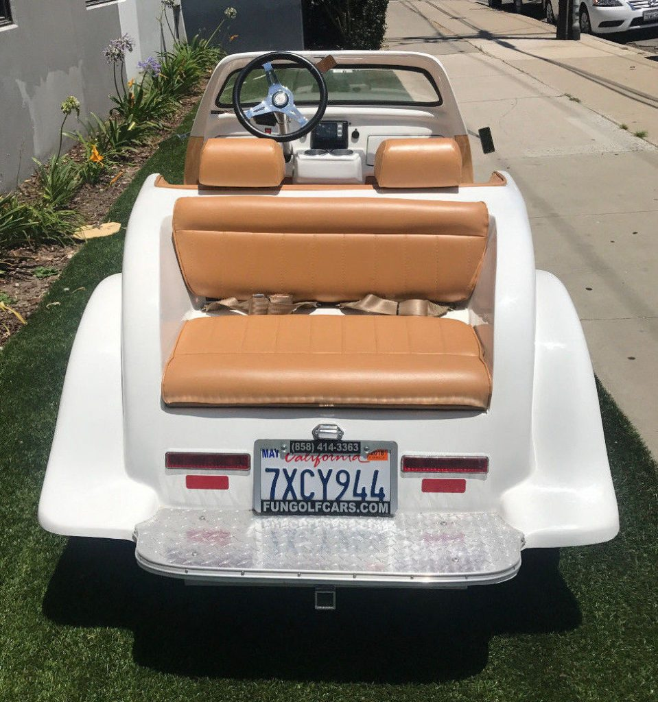 custom body 2016 ACG Woody California Roadster Golf Cart