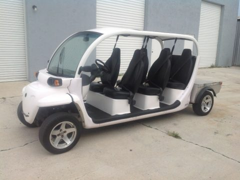 great shape 2015 Polaris Gem E6 Utility golf cart for sale
