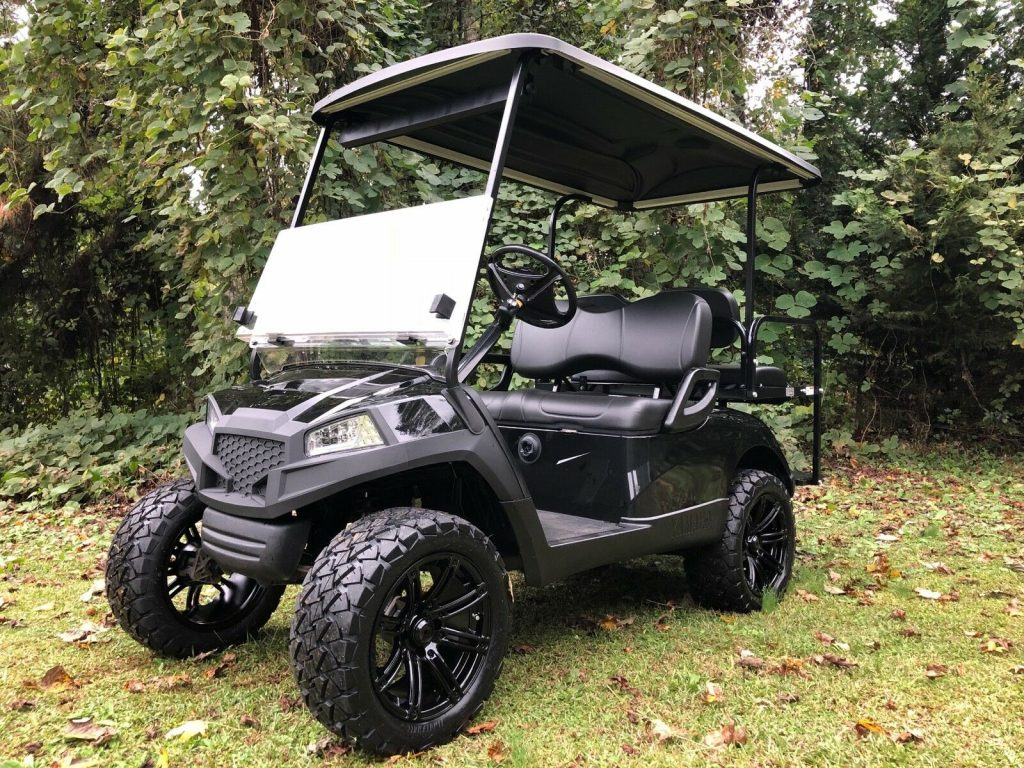 lifted 2016 Yamaha Drive G29 Golf Cart
