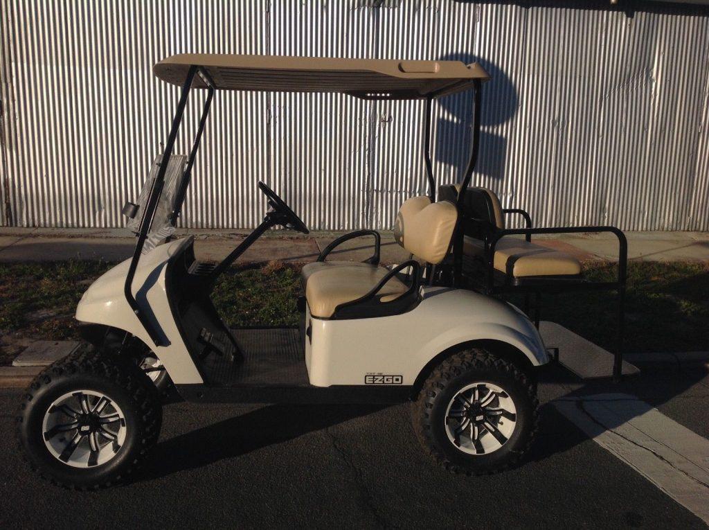 Many new parts 2015 EZGO golf cart