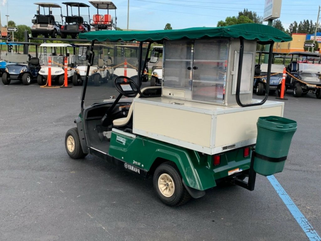 nice 2016 Yamaha Bistro Beverage Golf Cart