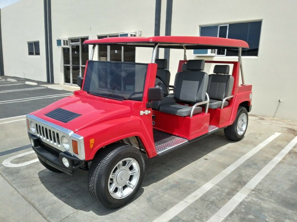 nice limo 2015 Acg Hummer Golf Cart