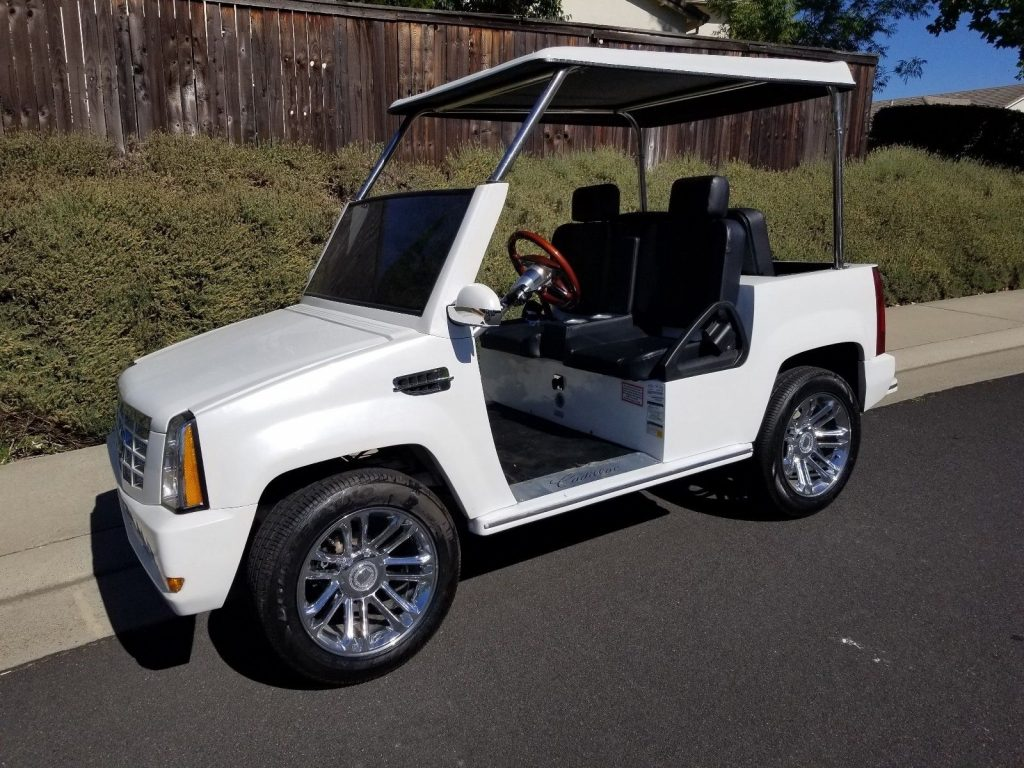 very nice 2015 ACG 4 Passenger Golf Cart