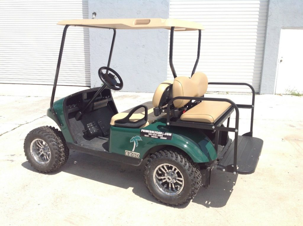 well serviced 2015 EZGO golf cart