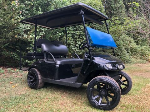 blacked out 2017 EZGO Txt Golf Cart for sale