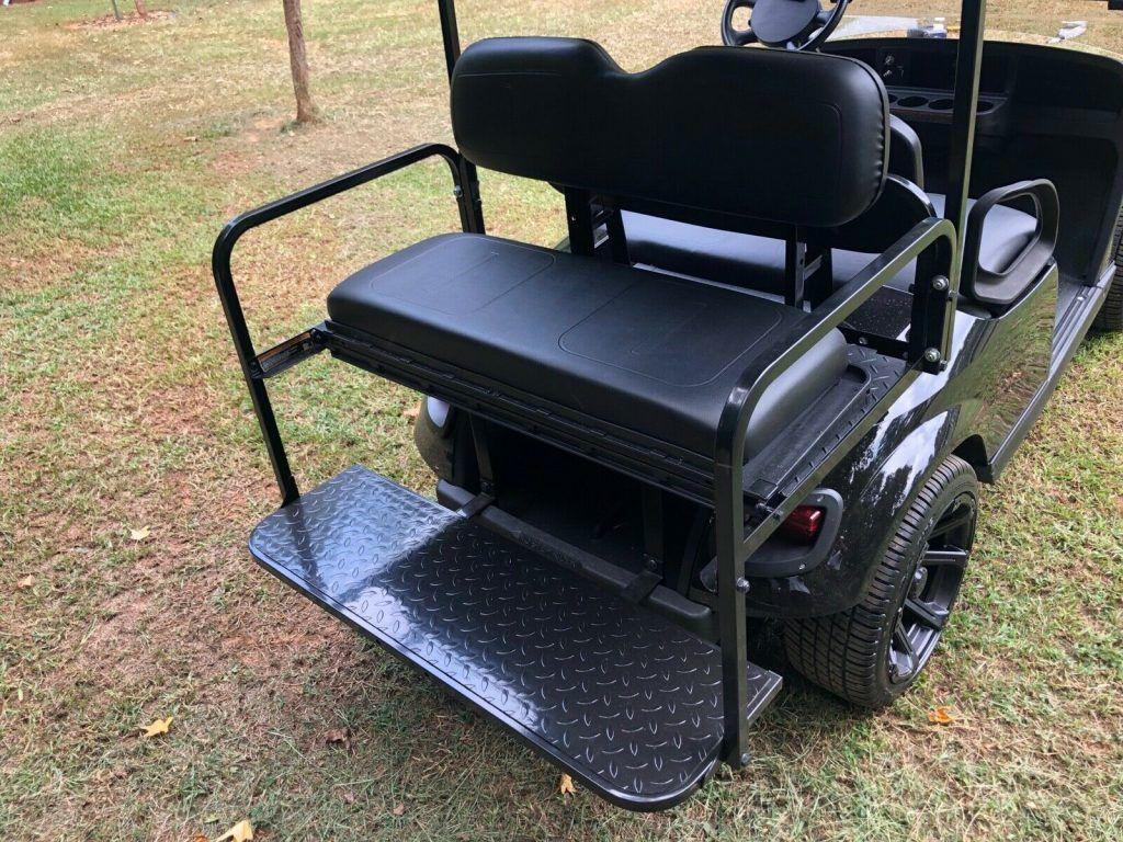 blacked out 2017 EZGO Txt Golf Cart