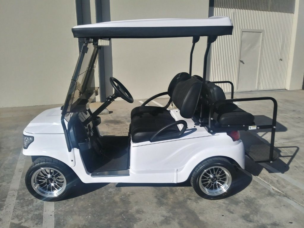 custom wheels 2018 Club Car Precedent golf cart