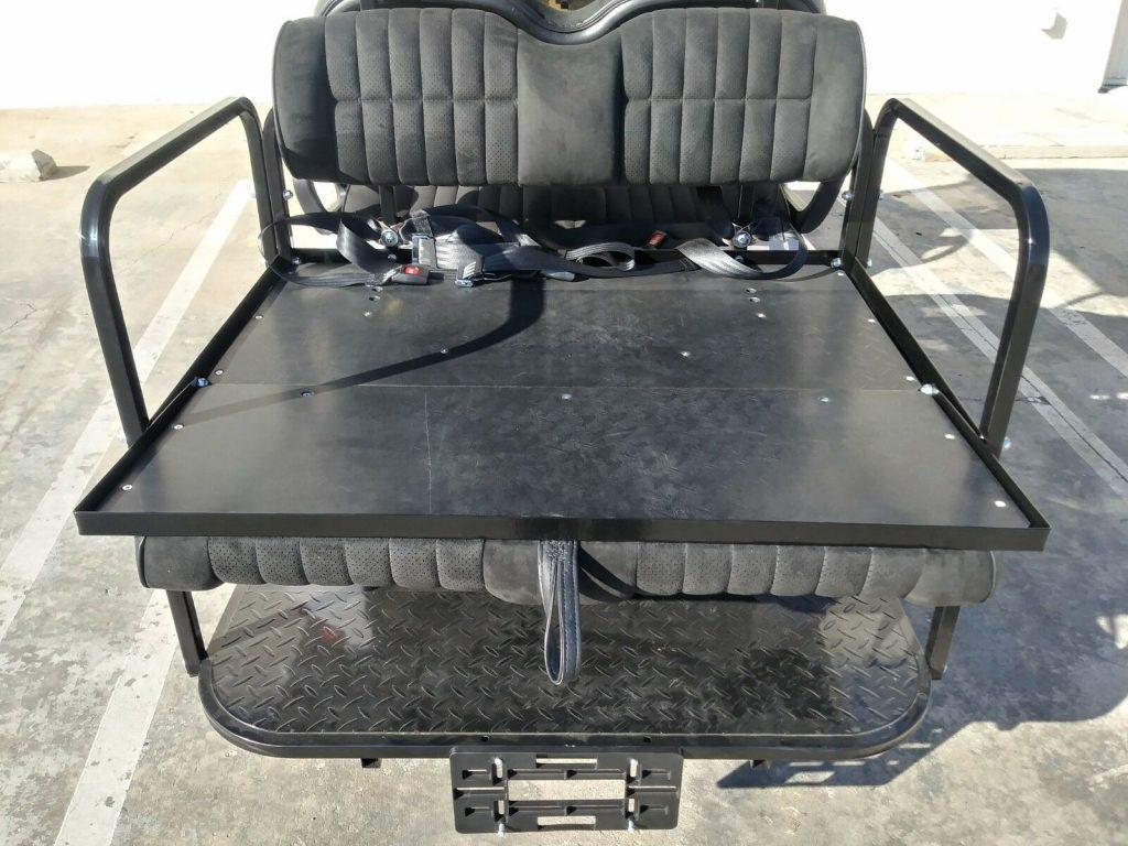 custom wheels 2018 Club Car Precedent golf cart