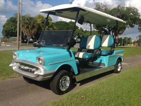 57 Chevy 2012 Club Car Precedent Golf Cart for sale