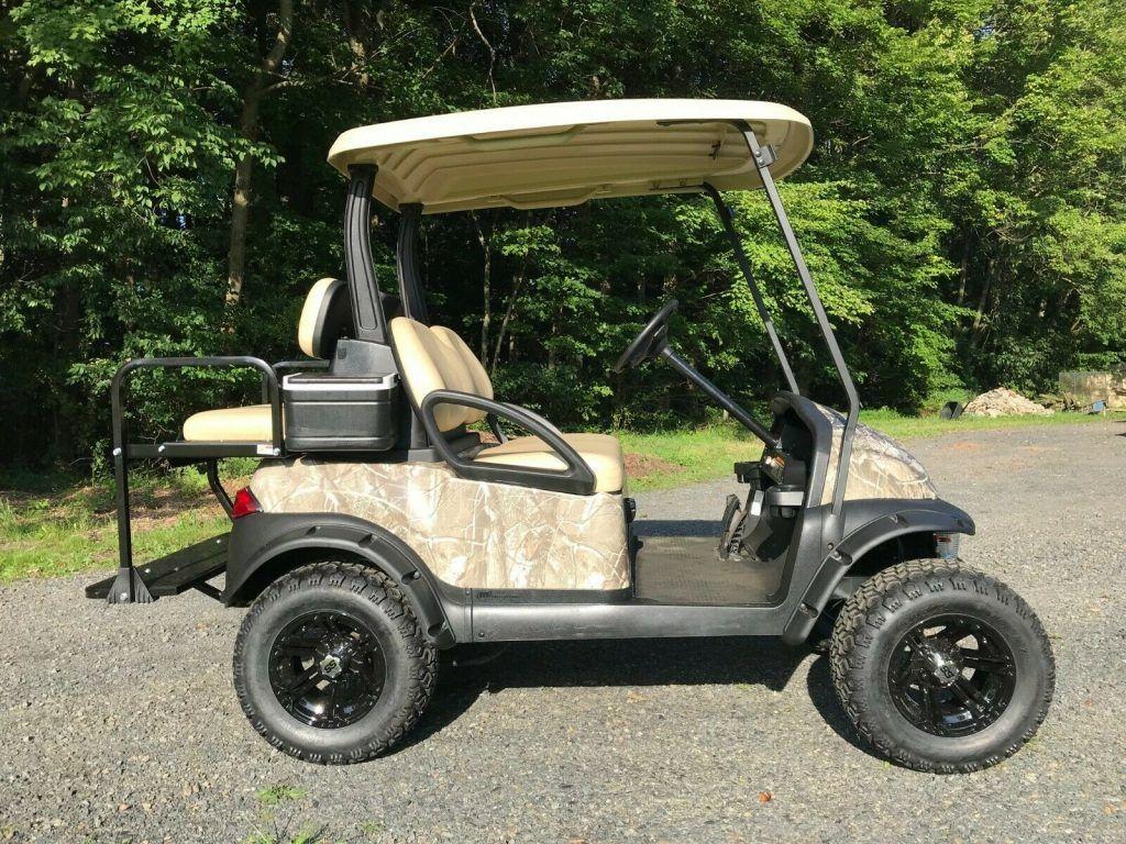 Custom 2012 Club Car Precedent Golf Cart