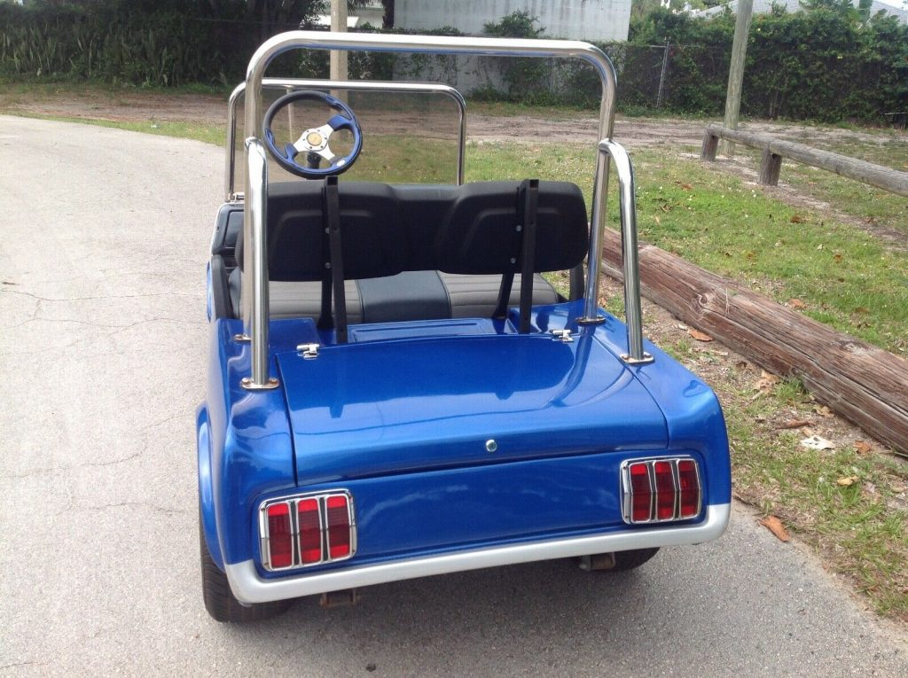 Custom Mustang 2010 Club Car golf cart