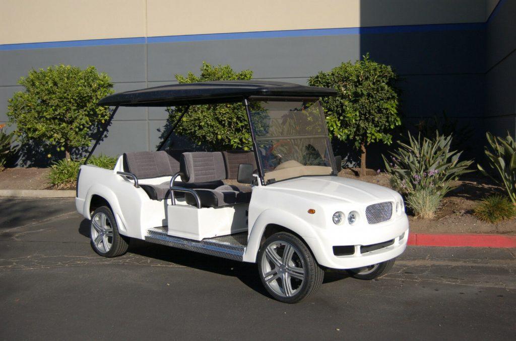 luxury 2018 Bentley Golf Cart