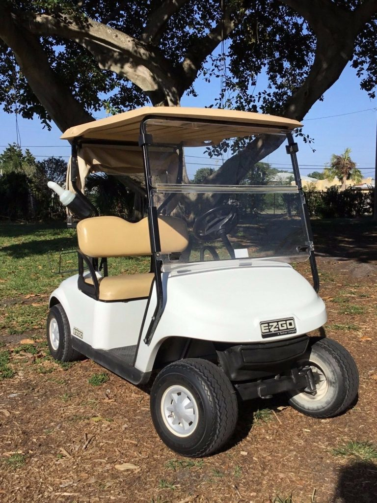 clean 2014 EZGO golf cart