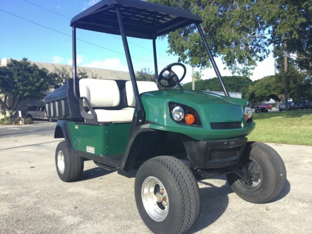 great running 2014 Ezgo Utility Terrain golf cart