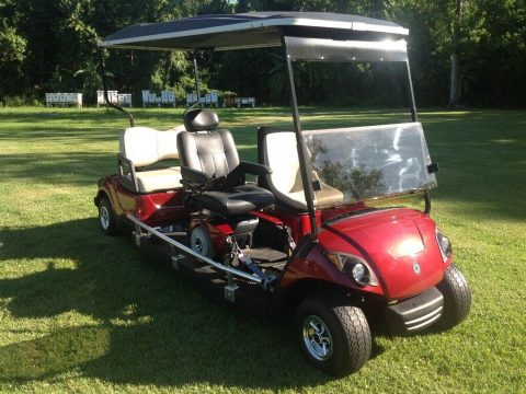 modified 2014 Yamaha golf cart for sale