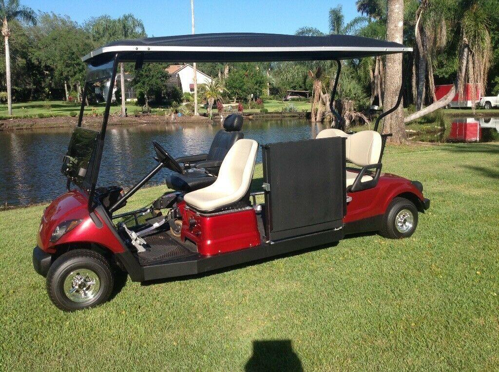 modified 2014 Yamaha golf cart