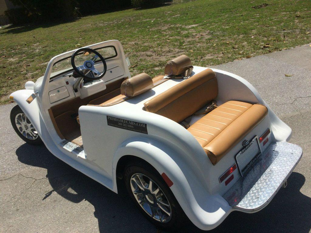custom 2018 Acg California Roadster Golf Cart