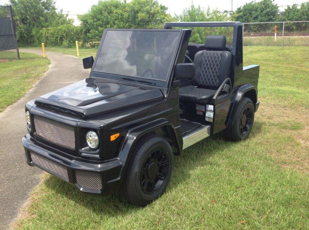 custom 2018 ACG E WAGON Golf Cart