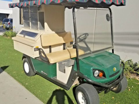 beverage carrier 2013 EZGO Gas Golf Cart for sale