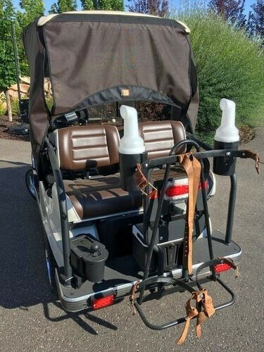 Custom 2010 Club Car Villager golf cart