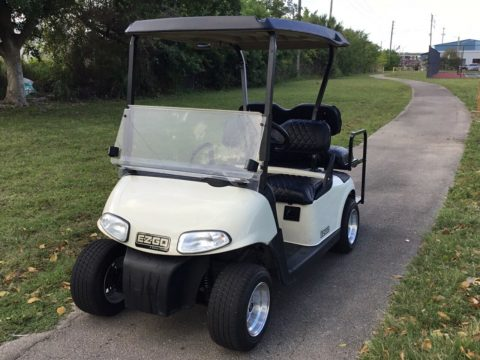 fast 2012 Ezgo golf cart for sale