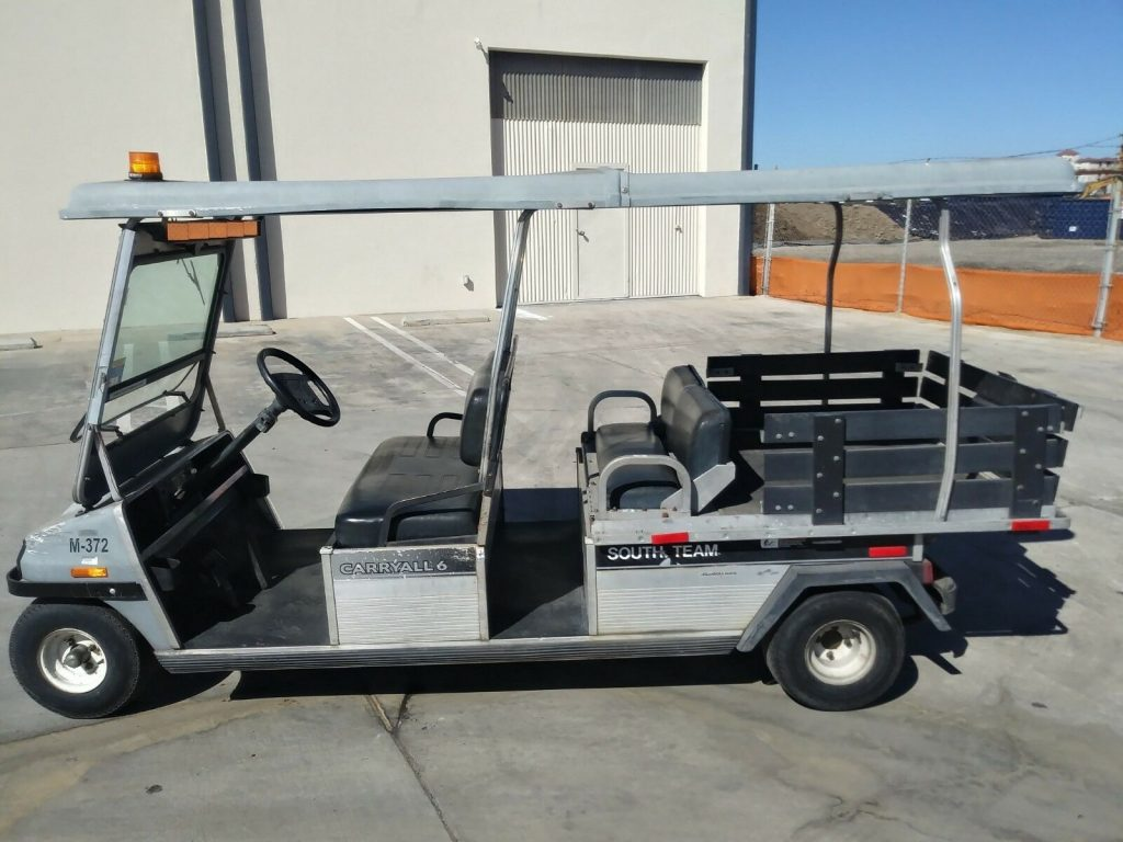 nice 2011 Club Car Carryall VI golf Cart