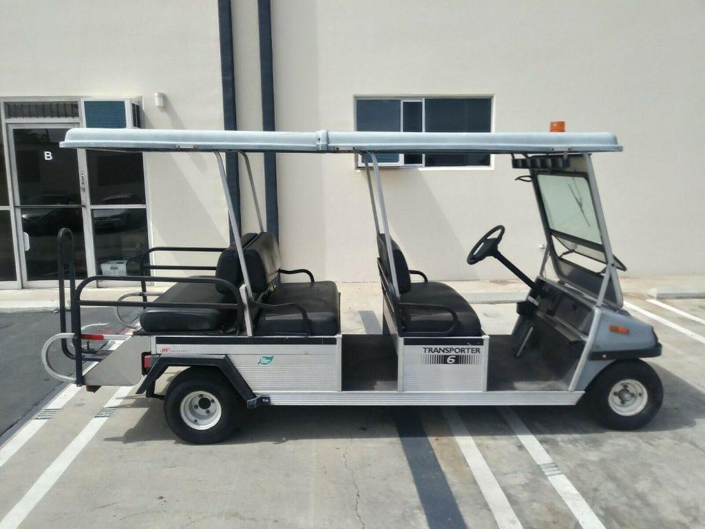very nice 2008 Club Car Transporter golf cart