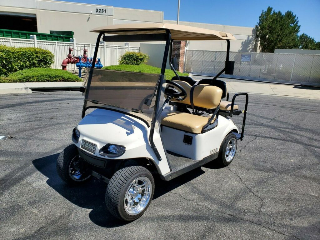custom rims 2016 EZGO golf cart
