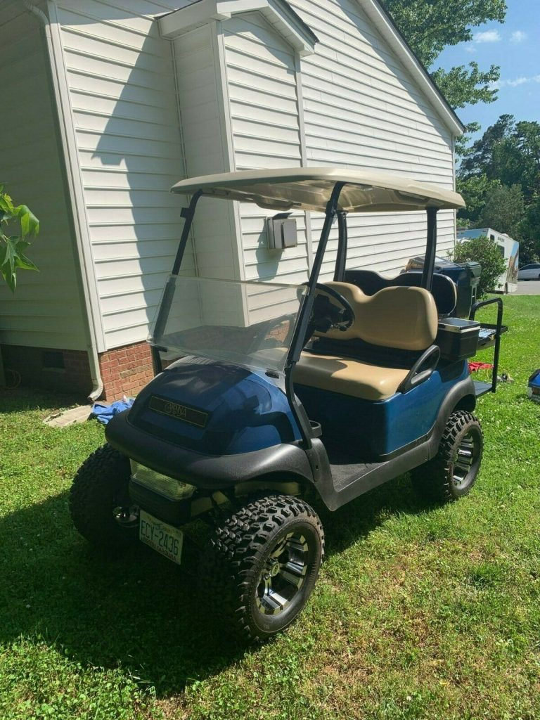 Lifted 2016 Club Car Precedent Golf Cart