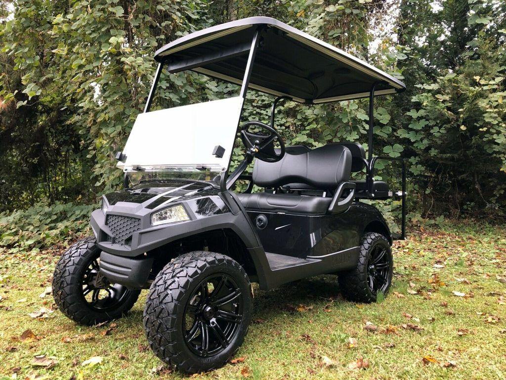 lifted 2016 Yamaha Drive G29 Golf Cart