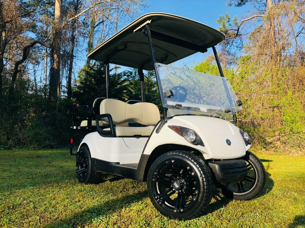 sharp 2016 Yamaha G29 Golf Cart