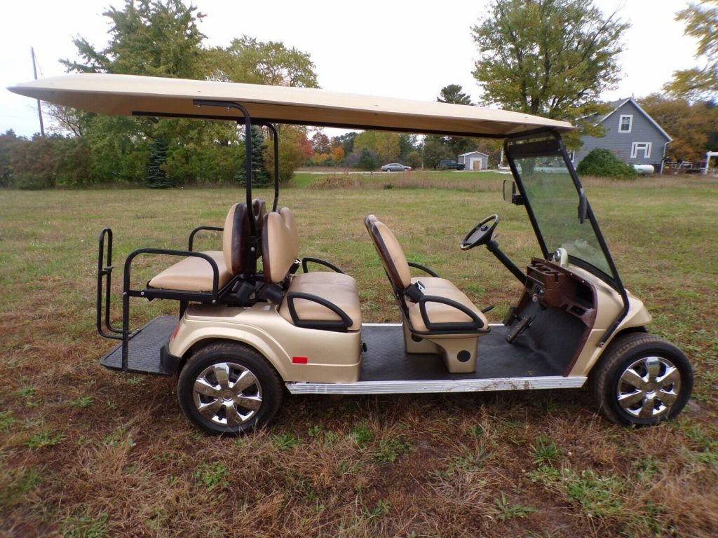 some dents 2016 Star EV Golf Cart