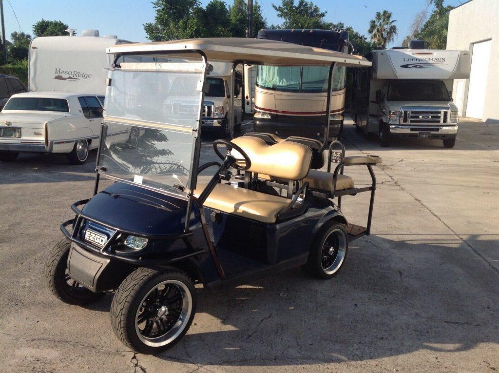 upgraded 2016 EZGO golf cart