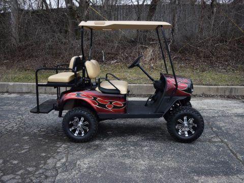 custom paint 2017 EZGO Gas Golf Cart for sale