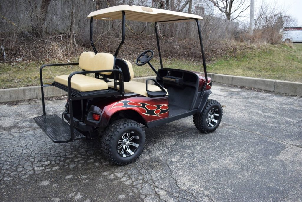 custom paint 2017 EZGO Gas Golf Cart