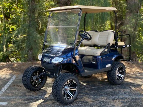 Lifted 2017 EZGO Golf Cart for sale